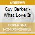 Guy Barker - What Love Is