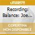 RECORDING: BALANCE: JOE MEEK