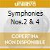SYMPHONIES NOS.2 & 4