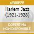 HARLEM JAZZ (1921-1928)