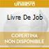 LIVRE DE JOB