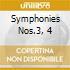 SYMPHONIES NOS.3, 4