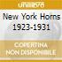 NEW YORK HORNS 1923-1931