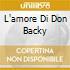 L'AMORE DI DON BACKY
