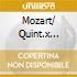 MOZART/ QUINT.X CLARIN-ARCHI