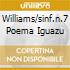 WILLIAMS/SINF.N.7 POEMA IGUAZU