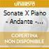 SONATE X PIANO - ANDANTE - 5 VAR
