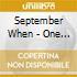 September When - One Eye Open