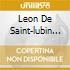 Leon De Saint-lubin - Virtuoso Works For Violin, Vol.1