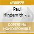 Paul Hindemith - Sonata Per Clarinetto, Quartetto Con Clarinetto, Quintetto Con Clarinetto