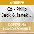 CD - PHILIP JECK & JANEK - SONGS FOR EUROPE