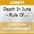 Death In June - Rule Of Thirds, The