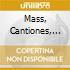 MASS, CANTIONES, GESUALDO