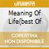 MEANING OF LIFE(BEST OF