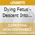 Dying Fetus - Descent Into Depravity