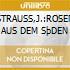 STRAUSS,J.:ROSEN AUS DEM SþDEN