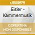 Hanns Eisler - Kammermusik