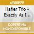 CD - HAFLER TRIO - Exactly As I Am
