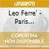 Leo Ferre' - Paris Canaille 1953
