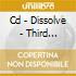 CD - DISSOLVE - THIRD ALBUM...