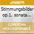 Stimmungsbilder op.1, sonata triad op.11