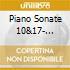 PIANO SONATE 10&17- SINFONIA 7