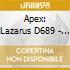 APEX: LAZARUS D689 - MESSA N. 2 D167
