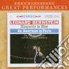 Gershwin - Rapsodia In Blu - Americano A Parigi - Bernstein