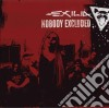 NOBODY EXCLUDED (LIMITED EDITION DIGIPACK)
