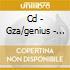 CD - GZA/GENIUS - WORDS FROM THE GENIUS
