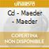 CD - MAEDER - MAEDER