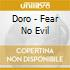FEAR NO EVIL + 2 BONUS TRACKS + VIDEOCLIP