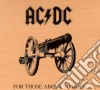 Ac/Dc - For Those About To Rock - Fan Pack With Merchandise