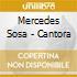 Mercedes Sosa - Cantora