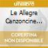 LE ALLEGRE CANZONCINE DELLO ZECCHINO D'O