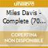 THE COMPLETE M.DAVIS COLUMBIA  70CD+DVD