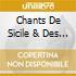CHANTS DE SICILE & DES ILES EOLIENNE