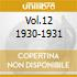 VOL.12 1930-1931