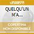 QUELQU'UN M'A DIT/Ltd.Edition+DVD