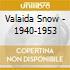 Valaida Snow - 1940-1953