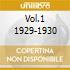 VOL.1 1929-1930