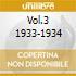 VOL.3 1933-1934