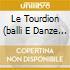 LE TOURDION (BALLI E DANZE DEL RINASCIME