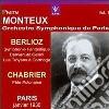 Monteux Pierre Vol.1 /os Di Parigi