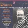 Monteux Pierre Vol.3 /y.menuhin Vl.