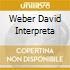 WEBER DAVID INTERPRETA