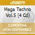 MEGA TECHNO VOL.5 (4 CD)