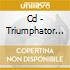 CD - TRIUMPHATOR - WINGS OF ANTICHRIST