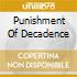 PUNISHMENT OF DECADENCE