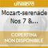 MOZART-SERENADE NOS 7 & 13